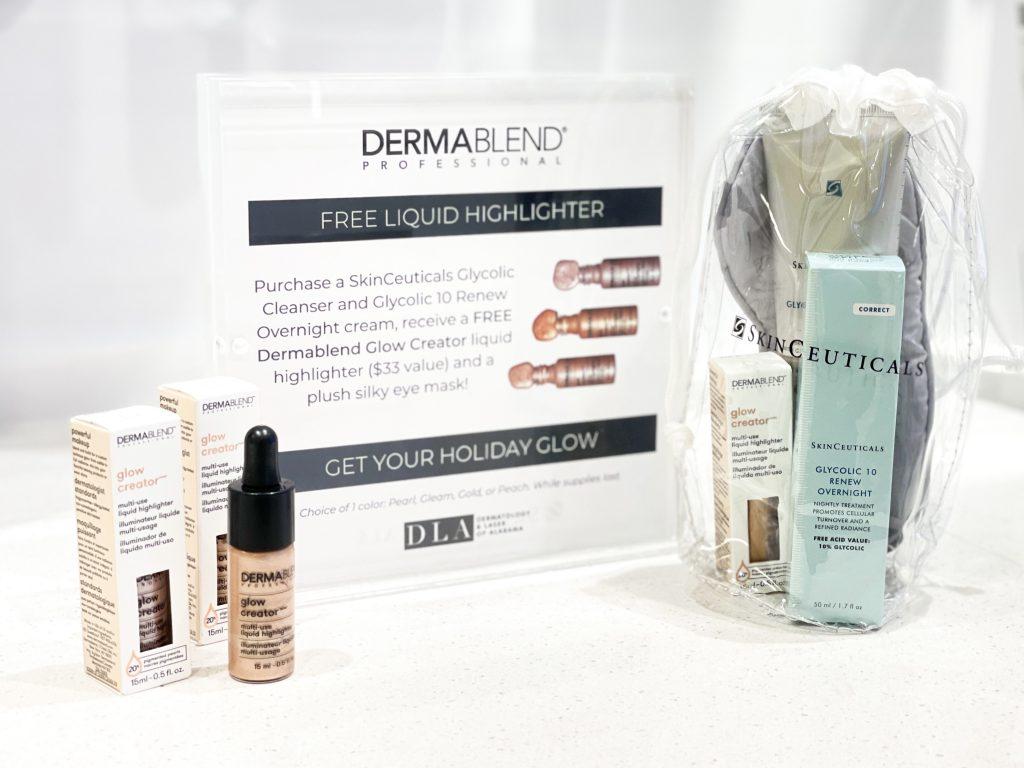 holiday gift guide 2020 dermatology & laser of alabama dermablend highlighter